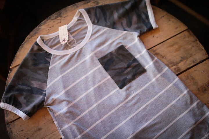 The Shay Top // Grey