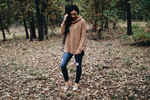 The Laura Sweater // Taupe
