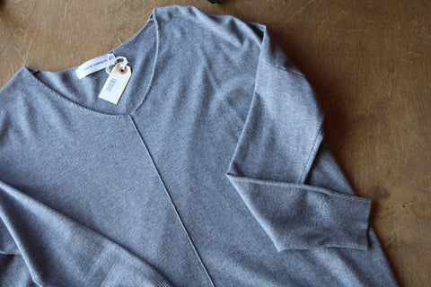 The Emily Sweater // Chambray