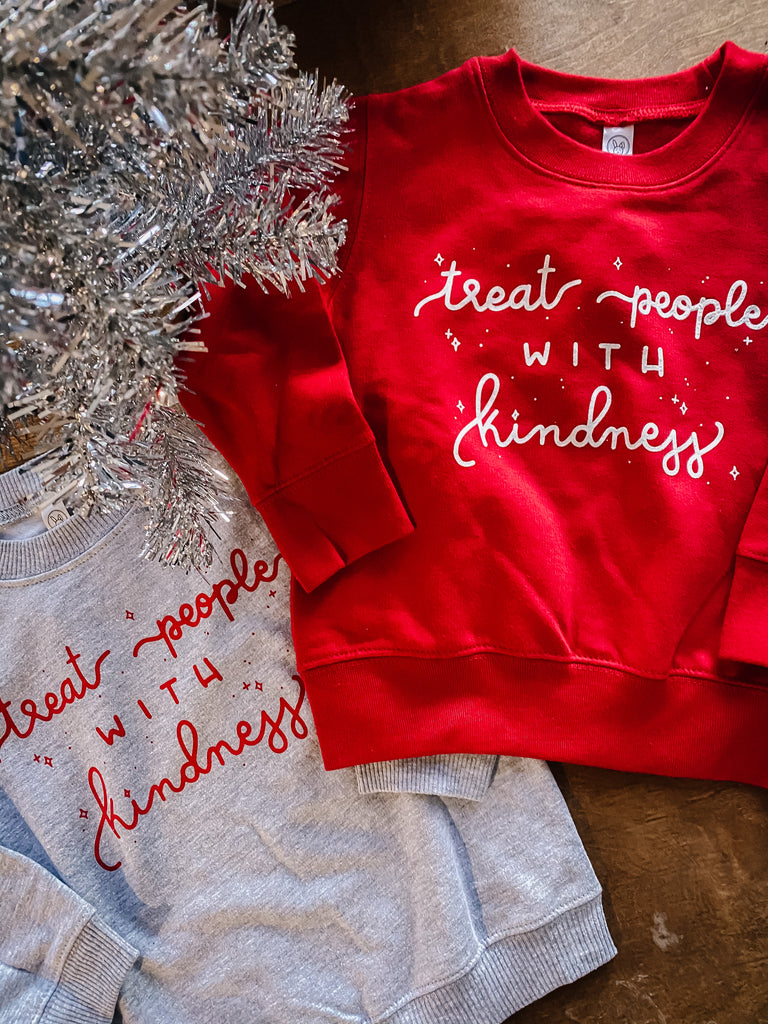 Kindness Toddler Sweatshirt