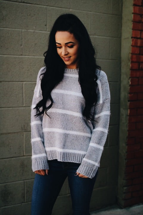The Jack Sweater // Heather Grey