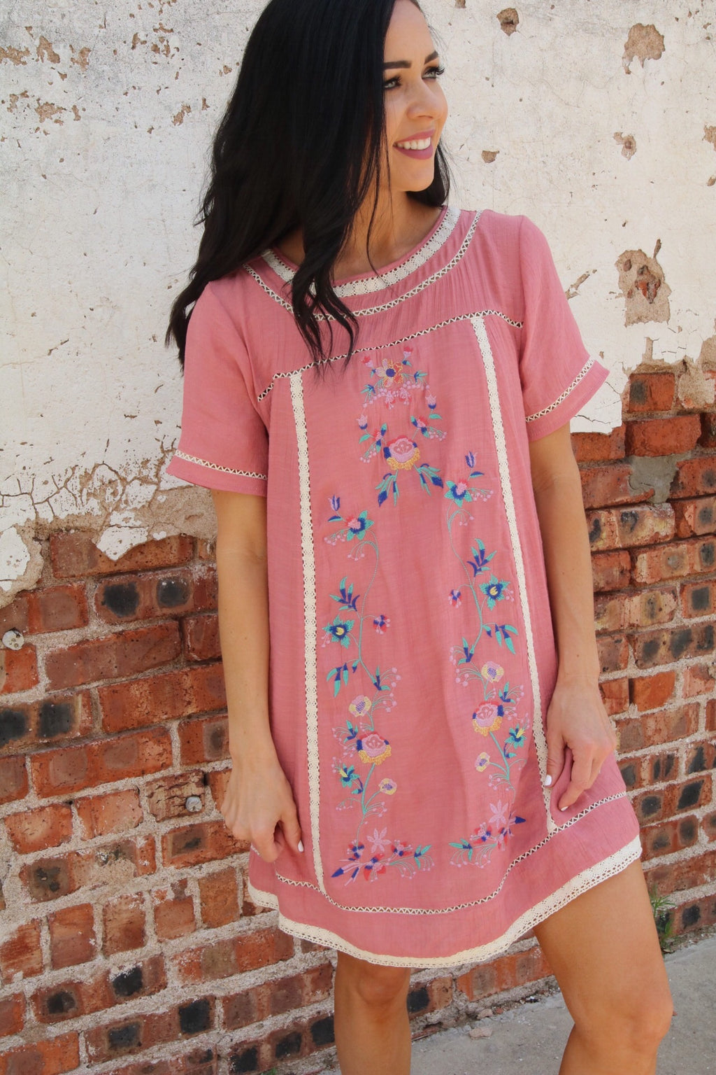 The Amie Dress // Pink