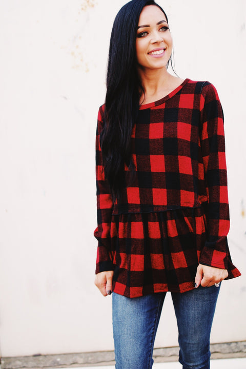 The Bethany Top // Red