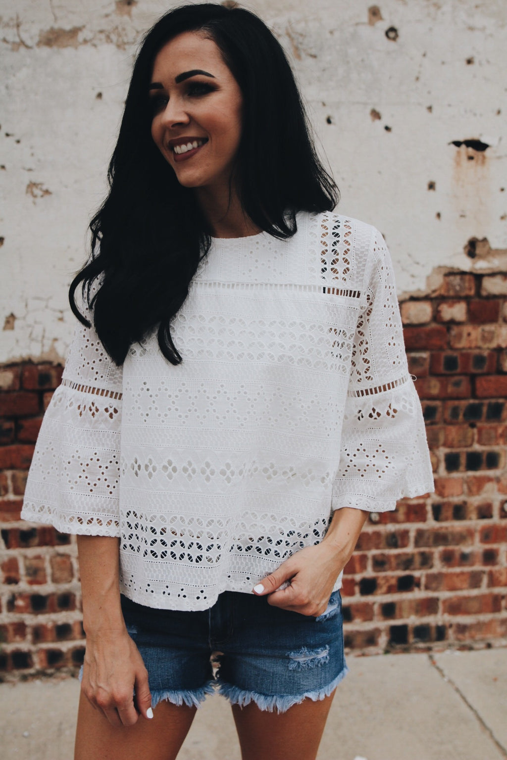 The Sally Top // White