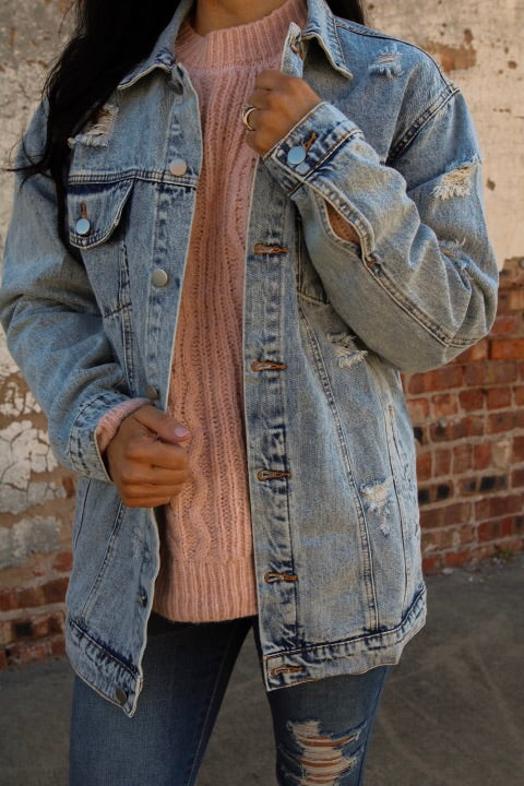 The Jean Jacket // Light Wash