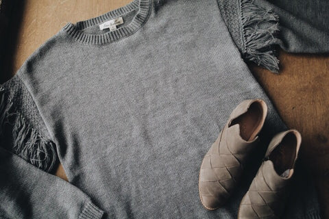 The Mailee Sweater // Grey