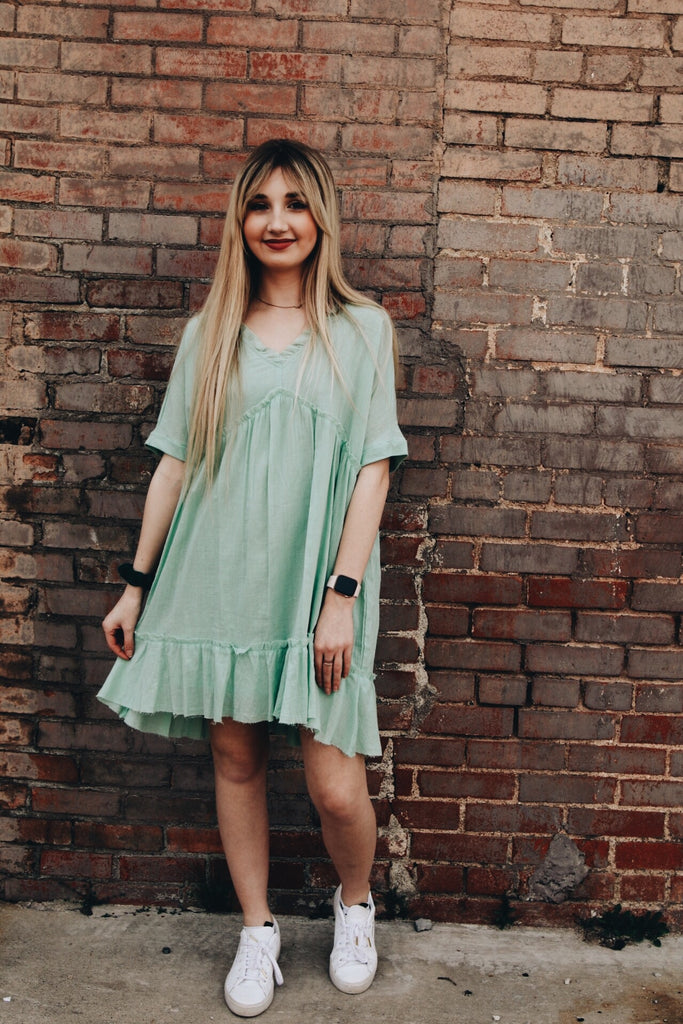 The Krissie Dress // Green