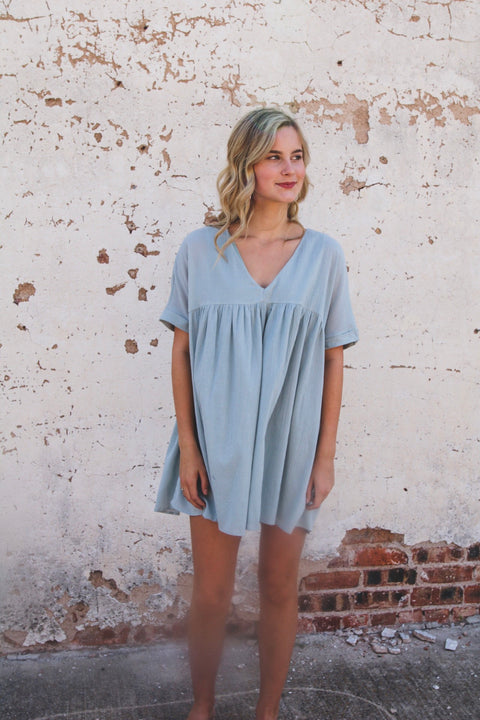 The Jera Dress // Blue