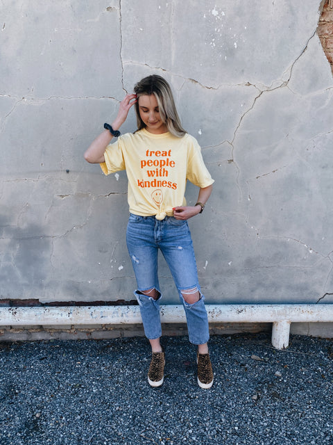 Kindness Tee // Yellow