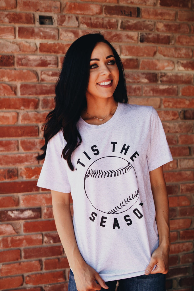 Tis The Season // Baseball Tee