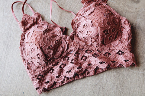 The Essential Bralette // Paprika
