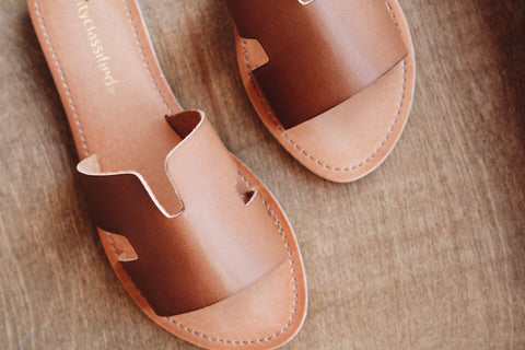 The Salvia Sandal // Tan