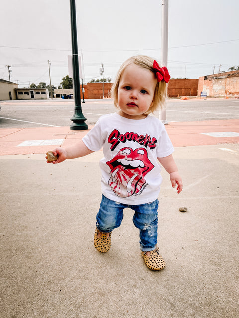 OU Rolling Stones Tee // Toddler