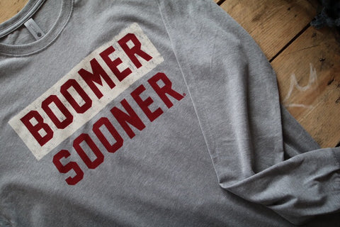 Boomer Sooner Long Sleeve Tee
