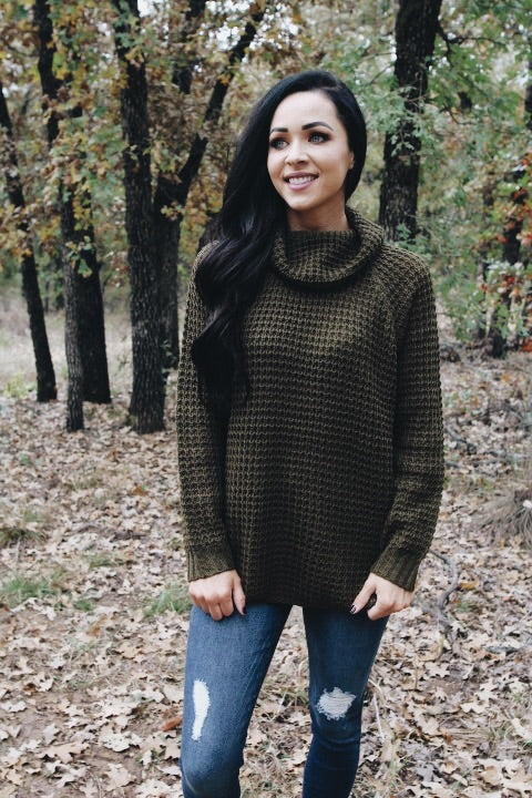 The Laura Sweater // Olive