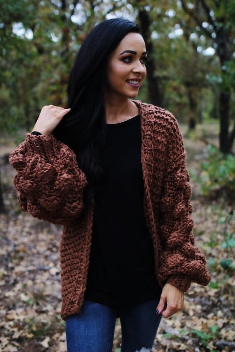 The Lucca Cardigan // Mocha