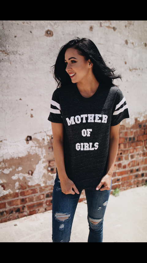 Mother of Girls Tee