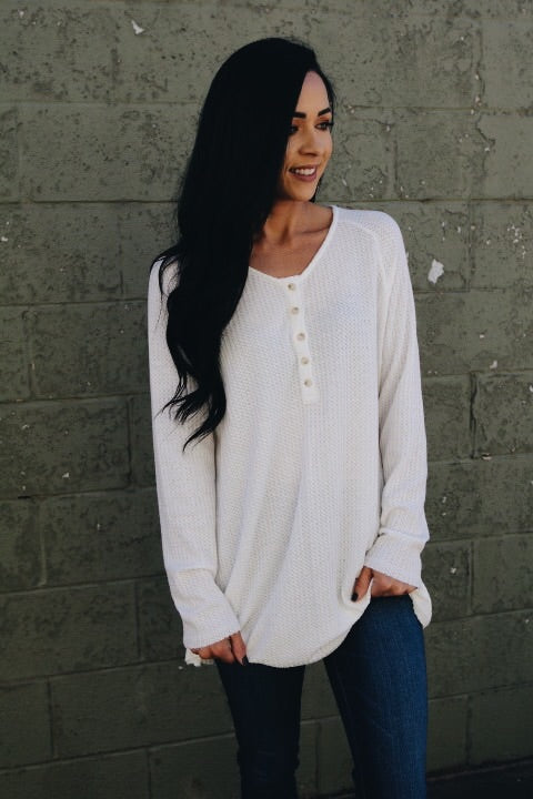 The Brooks Top // White