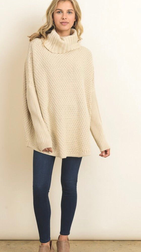 The Dannelle Sweater // Cream