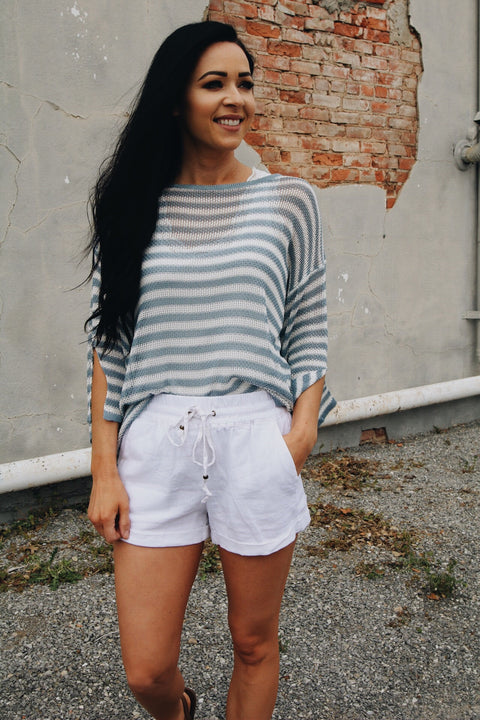 The Laurie Shorts // White