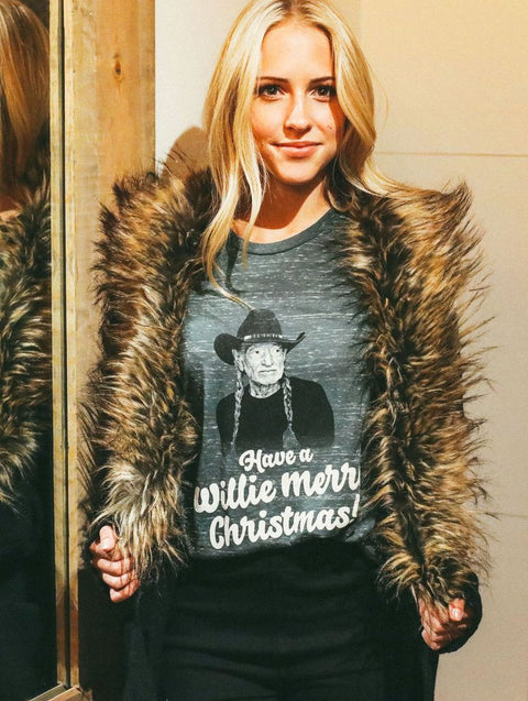 Willie Merry Christmas Tee (preorder)