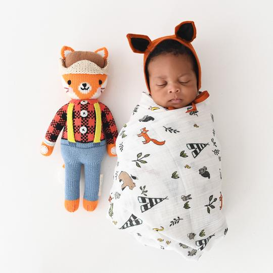 cuddle + kind / wyatt the fox / little 13""