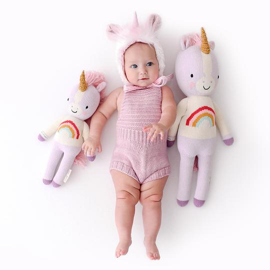 cuddle + kind / zoe the unicorn / little 13""