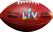The Duke Super Bowl 55 Game Ball