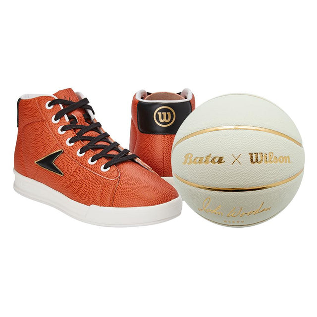 John Wooden Sneaker High Top Wilson x Bata + Free ball