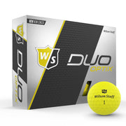 Staff Duo Soft Golf Ball - Optix Yellow