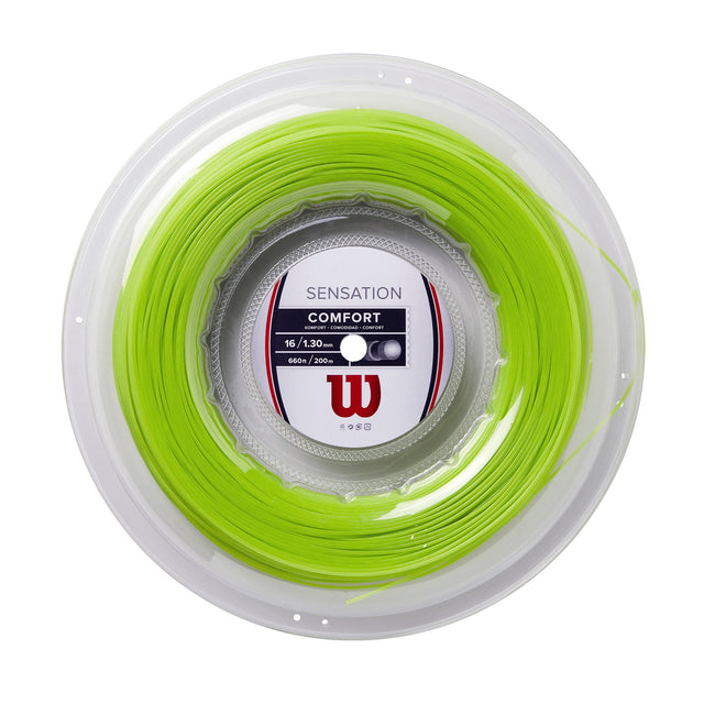 Sensation 16 Tennis String (NEON GREEN) - Reel
