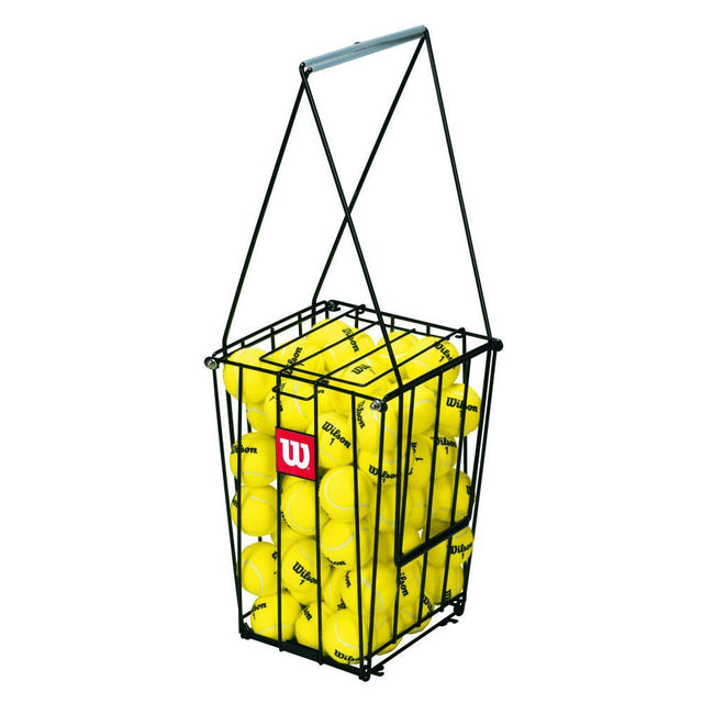 Tennis Ball Pick-Up Hopper