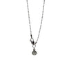 "Ball Chain Necklace - Oxidized Finish in 16"", 18"", 20"" & 24"""