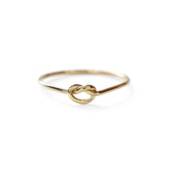 Love Knot Ring in Gold-Filled