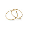 Tiny Hoop Earring Set in Gold-Filled