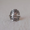 The Sunrise Banded Shield Ring Size 5.5