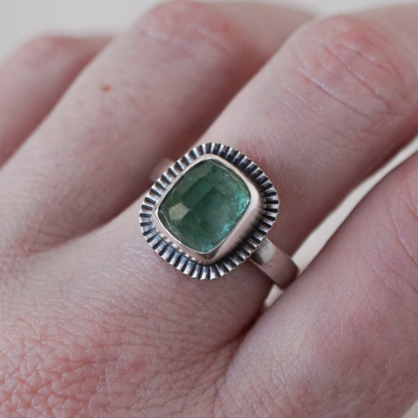 Tourmaline Candy Ring in Sterling Silver