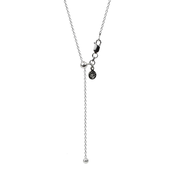 Adjustable Chain Necklace - Oxidized Finish in 24""