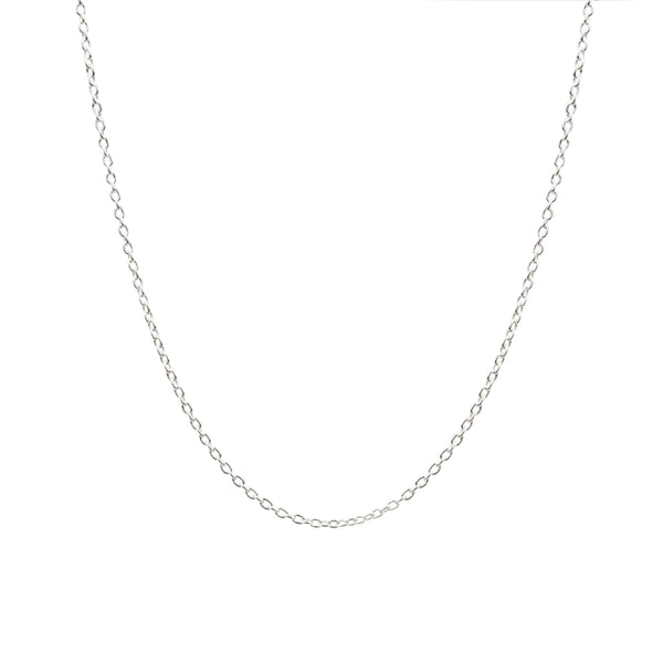 Adjustable Chain Necklace - Shiny Finish in 24""