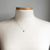 Teeny Tiny Natural Diamond Necklace in 14K Gold & Sterling