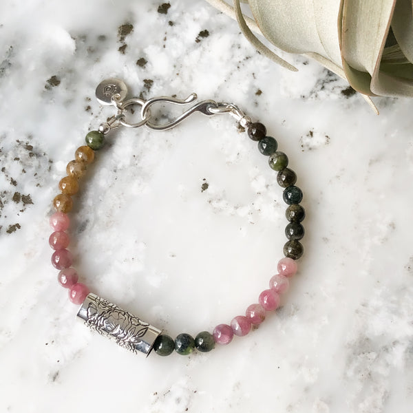 Boutique Tourmaline Bracelets in Sterling Silver - Multiple Sizes Available