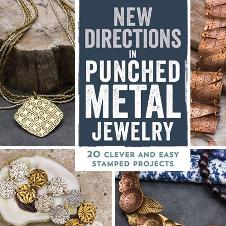 MY BOOK! New Directions in Punched Metal Jewelry Book