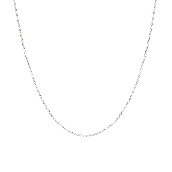 "Small Chain Necklace - Shiny Finish in 16"", 18"", 20"" & 24"""