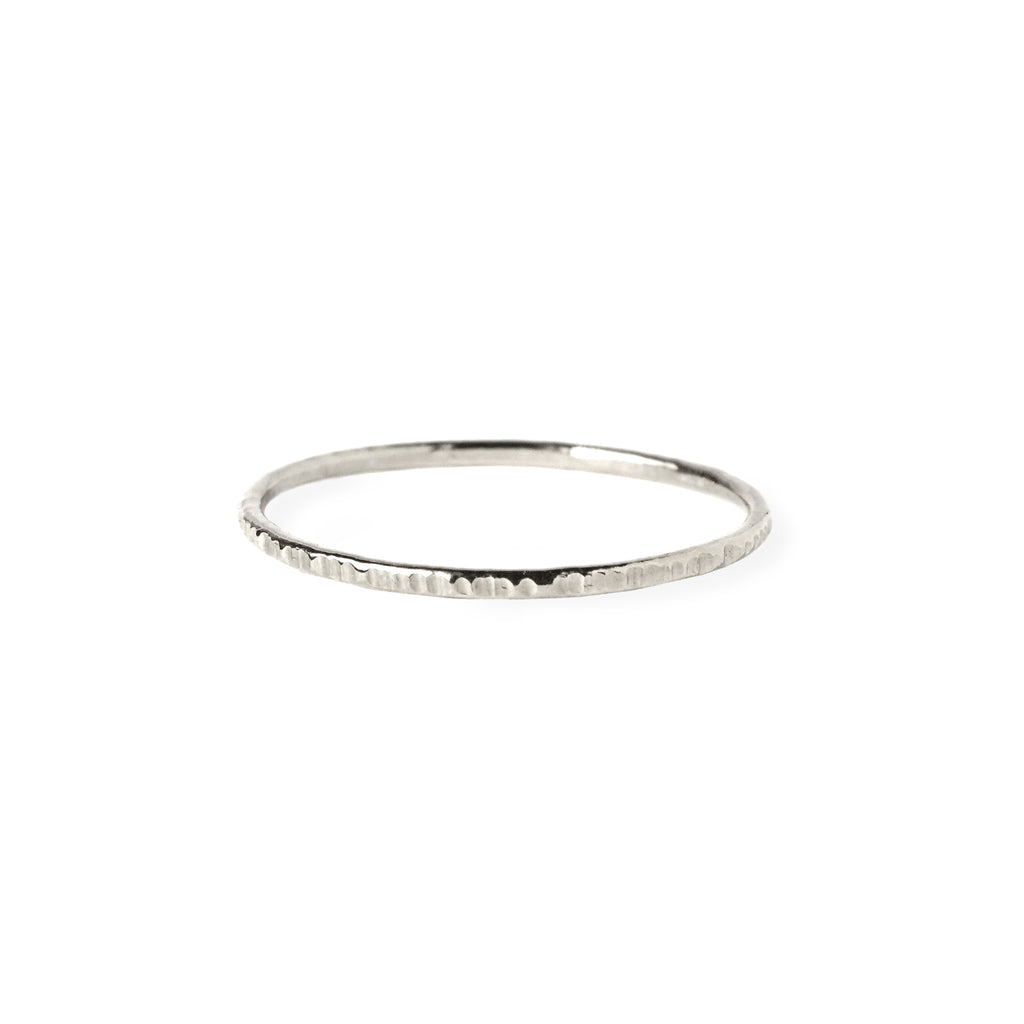 Dash Whisper Ring in Sterling Silver