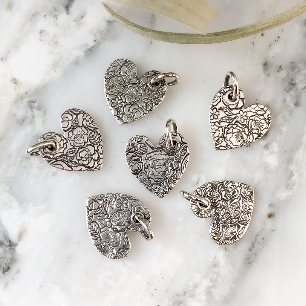 Boutique Heart Necklaces in Sterling Silver