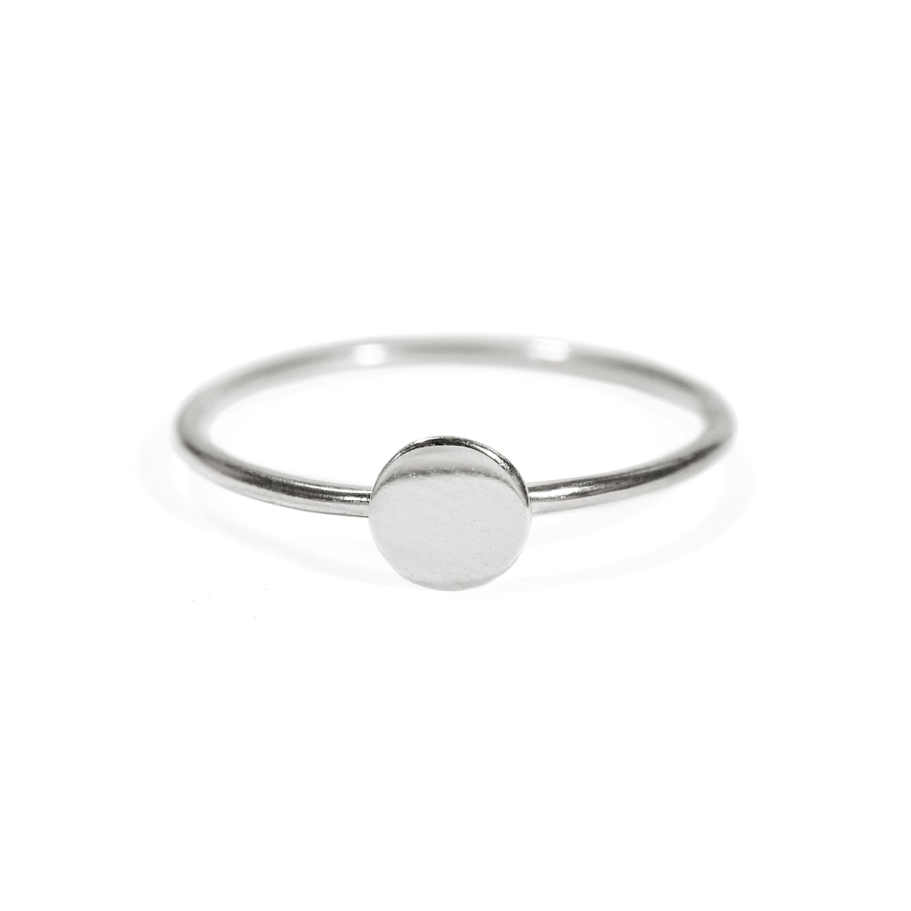 Polka Dot Ring in Sterling Silver