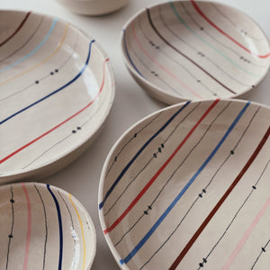 Bowl (XL) lines and dots 02