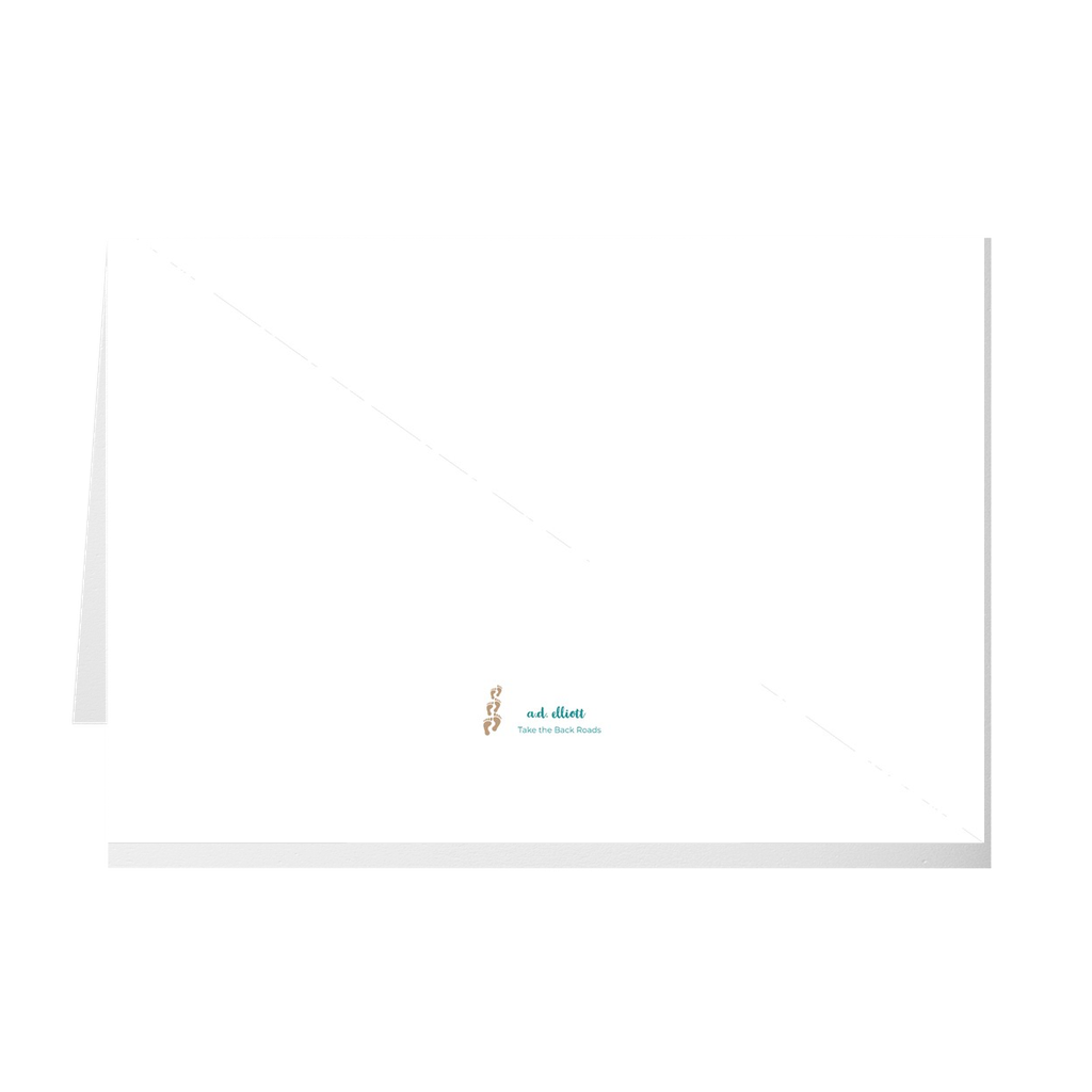 The photograph Tiree Dock imprinted on a 5X7 greeting card with a blank interior.  These high quality paper cards come pre-folded, packed in cello sleeves per 10 cards, and includes a white envelope for each card. Works well with regular ballpoint pens after a short drying time.