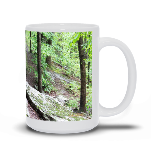 The photograph Moonshiner's Side Fall imprinted on a 15oz Coffee Mug  Add a bit of brightness to the morning routine with one of our high quality, dishwasher and microwave safe classic mugs made from quality ceramic with a comfortable handle.