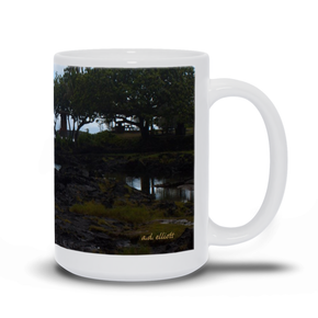 The photograph Hilo Bay imprinted on a 15oz coffee mug.  Add a bit of brightness to the morning routine with one of our high quality, dishwasher and microwave safe classic mugs made from quality ceramic with a comfortable handle.